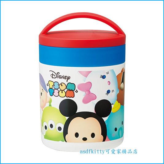 asdfkitty可愛家☆迪士尼Q版米奇超輕量大口徑真空不鏽鋼保溫杯-可當悶燒罐-300ml-日本正版商品