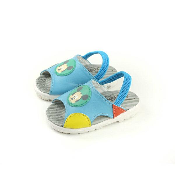 Disney迪士尼米奇涼鞋淺藍色小童D118126no094