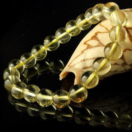 珠寶黃水晶手鏈 水晶手鏈 招財辟邪旺運 禮品女