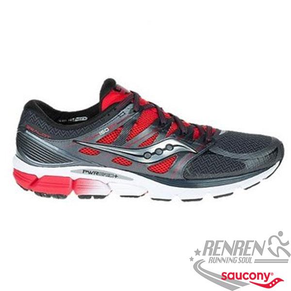 SAUCONY ZEALOT ISO  男慢跑鞋 (黑*紅*銀)