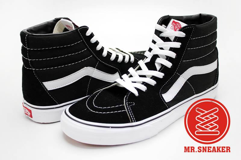 ☆Mr.Sneaker☆ VANS Old Skool 基本/百搭/經典不敗 復古/休閒/滑板鞋 高筒 帆布/麂皮 黑色 中性 男女款