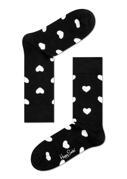 ~Mr.Sneaker~ 瑞典 Happy Socks 2015 心心相印 中筒襪 HA0