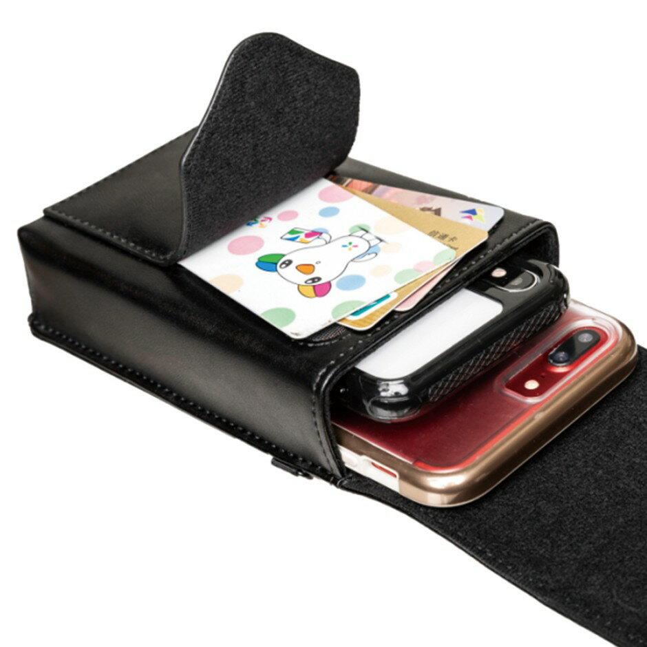 外銷歐美 可放2支手機 高級真皮直式雙機包+卡夾包 專利卡扣彎腰不卡卡 出口歐美🔹顛覆傳統腰掛皮套 隨心調整🔹 5