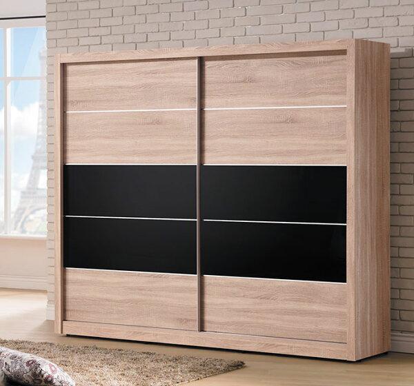 【尚品家具】HY-A111-08盧卡斯5x7尺衣櫥