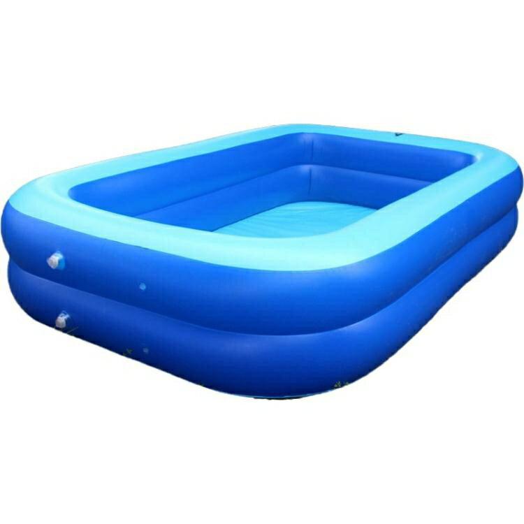 【八折下殺】泳池 加大加厚充氣游泳池兒童成人大號戲水池玩水池洗澡池寶寶充氣水池 閒庭美家