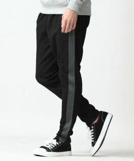 運動束口褲BLACK×CGRAY單線