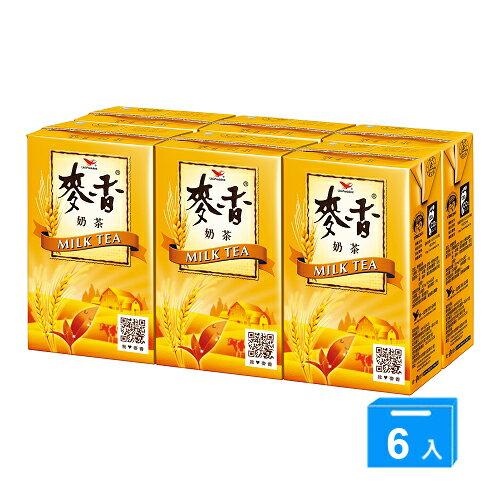 統一麥香奶茶250mlx6入【愛買】
