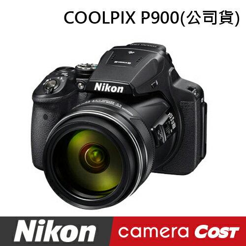Nikon Coolpix P900 數位相機 64G組+電充+嚴選四單品 公司貨 3吋螢幕 wifi nfc