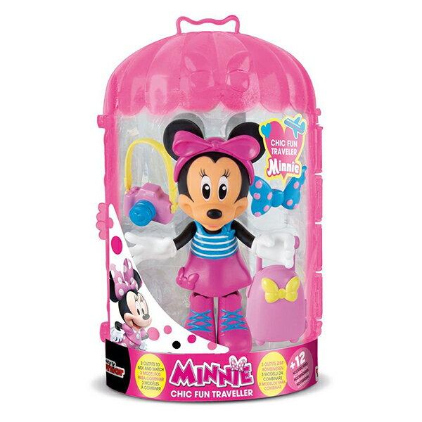 《Disney迪士尼》米妮換裝組合-旅行系列