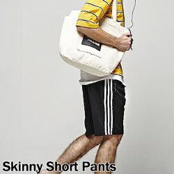 DITION 三線側條防水拉鍊JOGGER抽繩棉褲 健身 運動