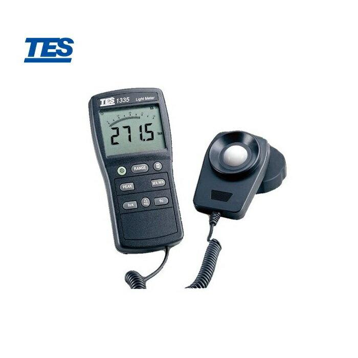 泰仕 TES-1335 數位式照度計 40萬LUX