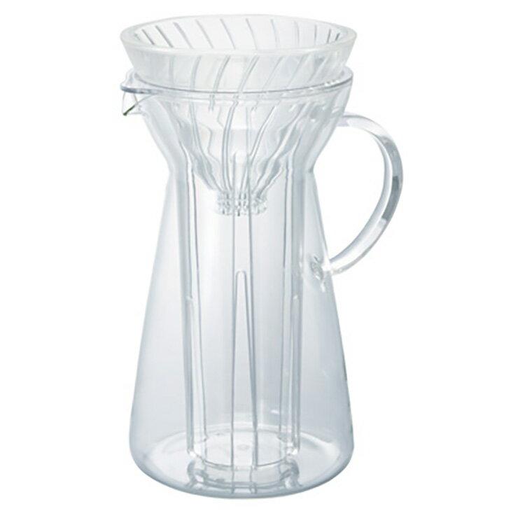 HARIO V60濾杯玻璃冷泡咖啡壺VIG-02T 手沖壺耐熱玻璃壺茶壺冷泡咖啡壺 700ml