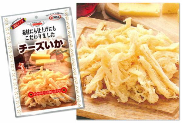 日本maruesu起司魷魚絲零食大包62克285526代購