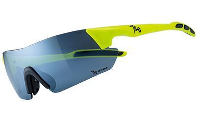 720armour Kamikaze 單車三鐵廣角運動太陽眼鏡 B369-4 螢光黃綠框白金灰防爆PC片