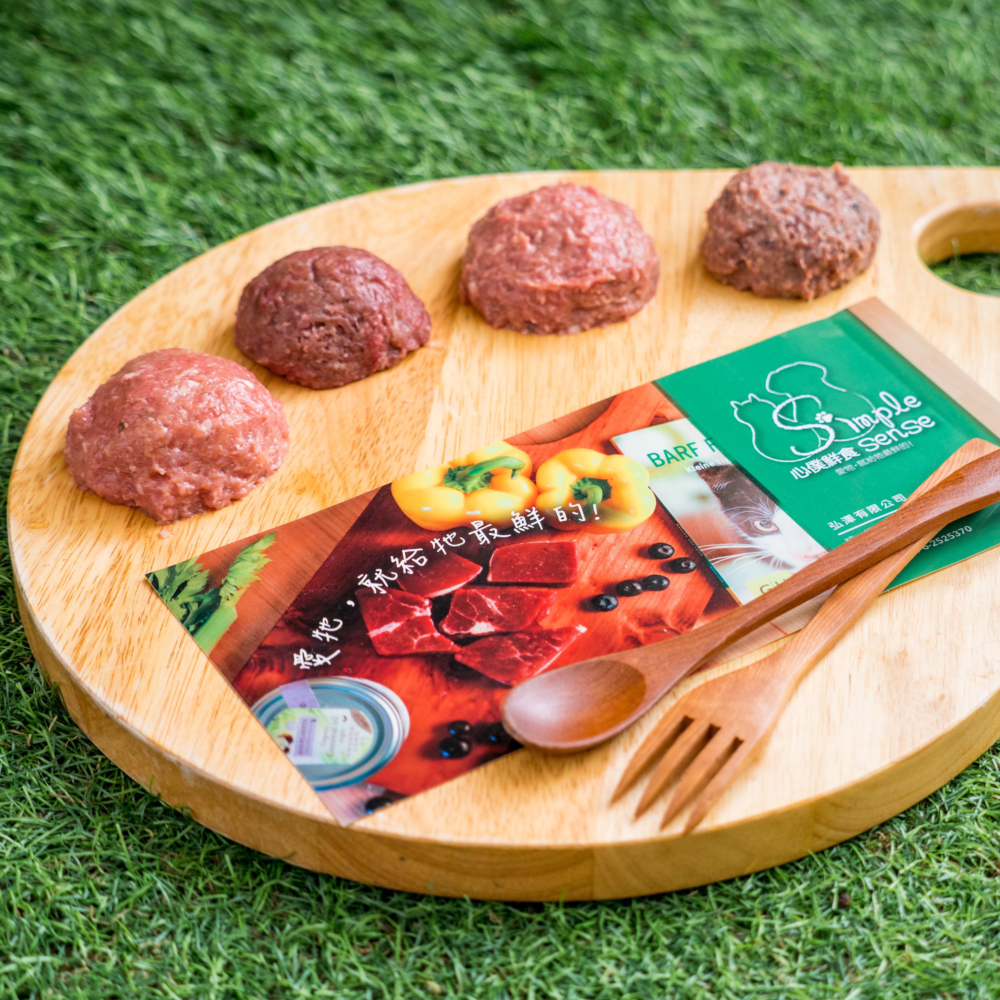 (寵物食品)喵喵綜合肉泥(500公克x6包/組,雞鴨魚雞丁備註自由選配or隨機出貨)