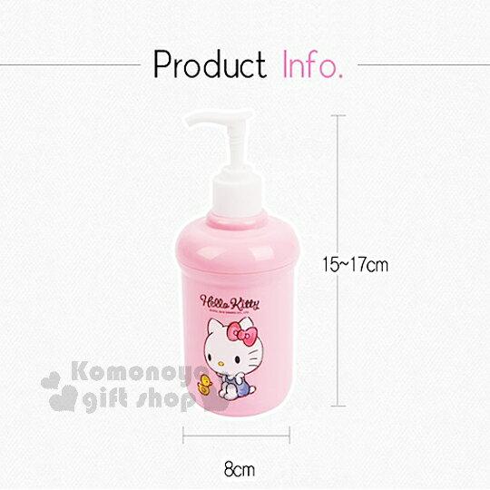 〔小禮堂韓國館〕Hello Kitty 洗手乳罐《粉.藍吊帶褲.小鴨》素描系列