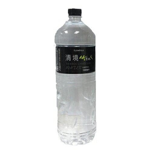 清境竹炭水 1500ml【愛買】