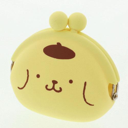 日本代購預購三麗鷗布丁狗立體造型零錢包POCHI矽膠珠扣零錢包757-359