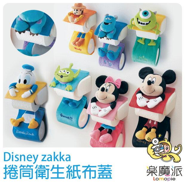 日本代購 迪士尼 浴室 衛生紙套 面紙盒 面紙套 滾筒衛生紙 三眼怪 米奇米妮 毛怪大眼仔 胡迪