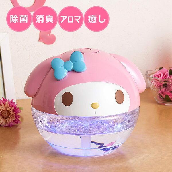 日本直送 美樂蒂空氣清淨機殺菌除臭芳香機