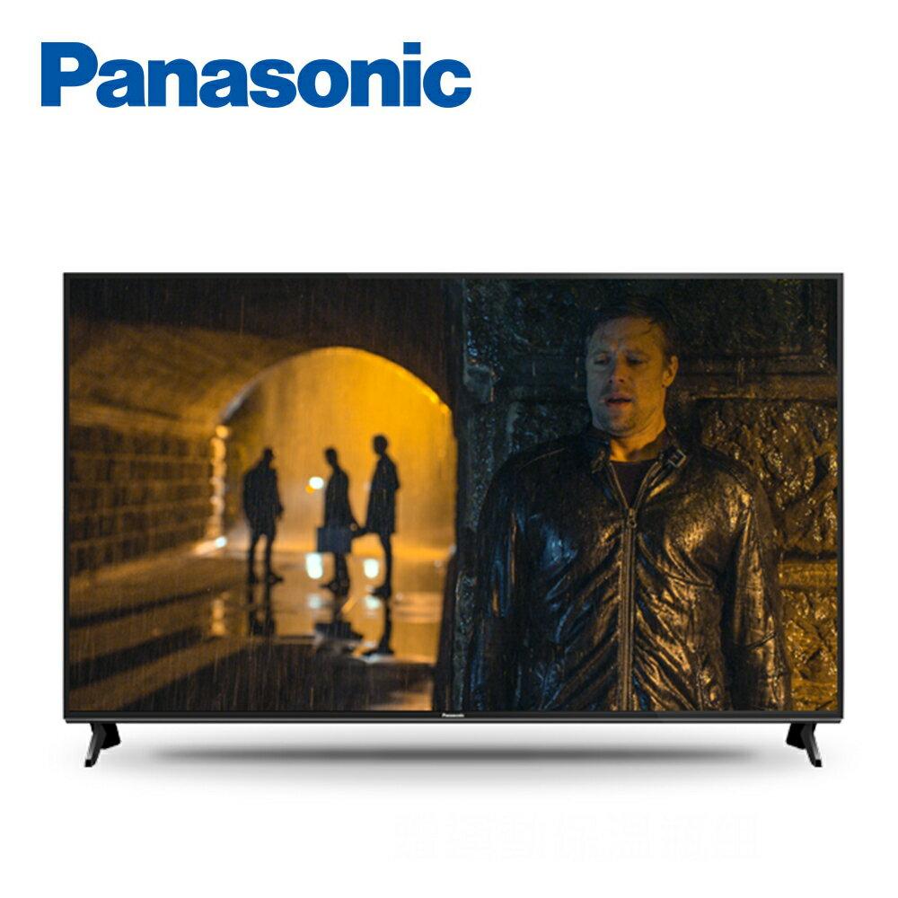 【Panasonic 國際牌】49吋 4K 連網液晶顯示器+視訊盒 TH-49GX750W 買就送LED體重計