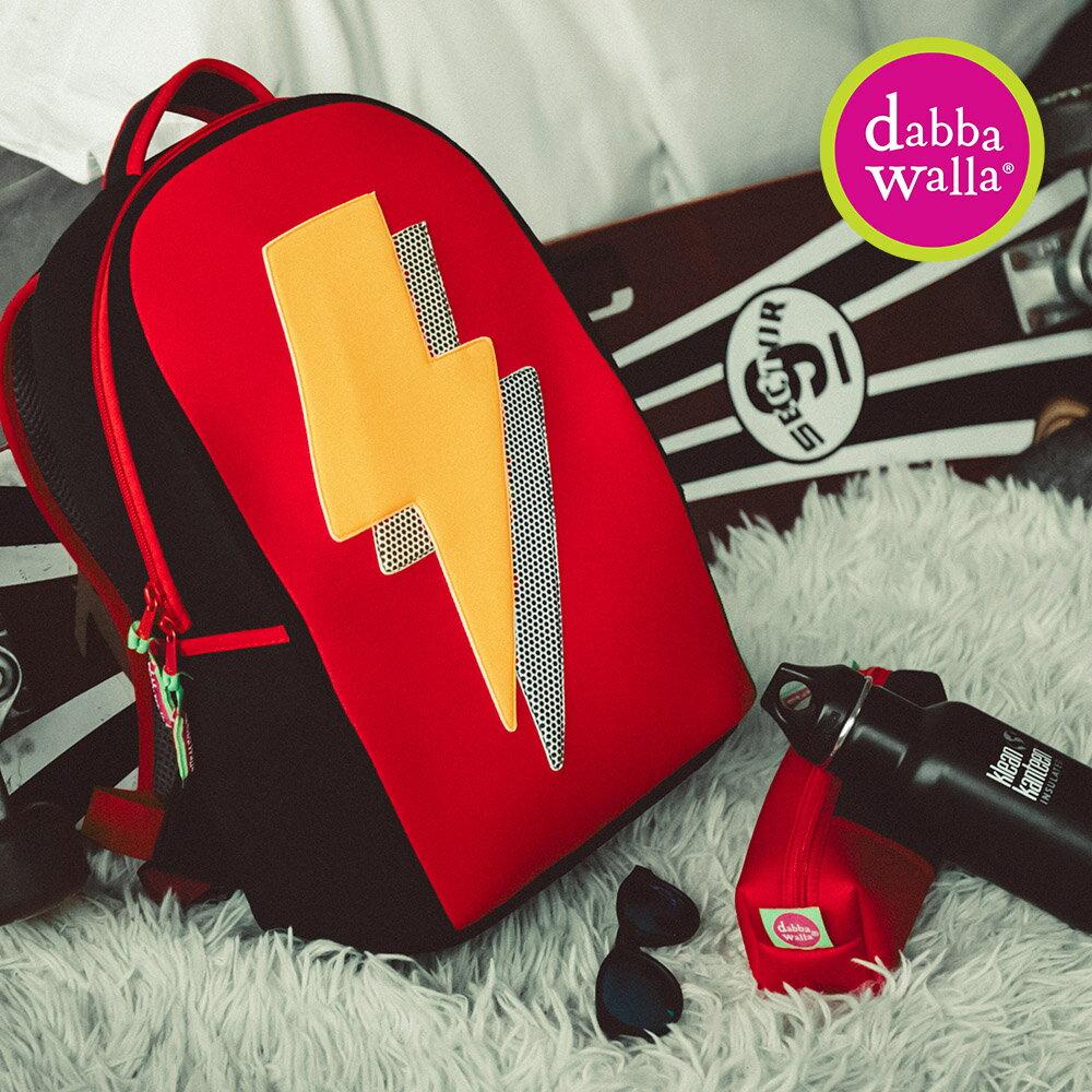【Dabbawalla】美國瓦拉包-小學生雙肩護脊書包 - 雷電交鋒