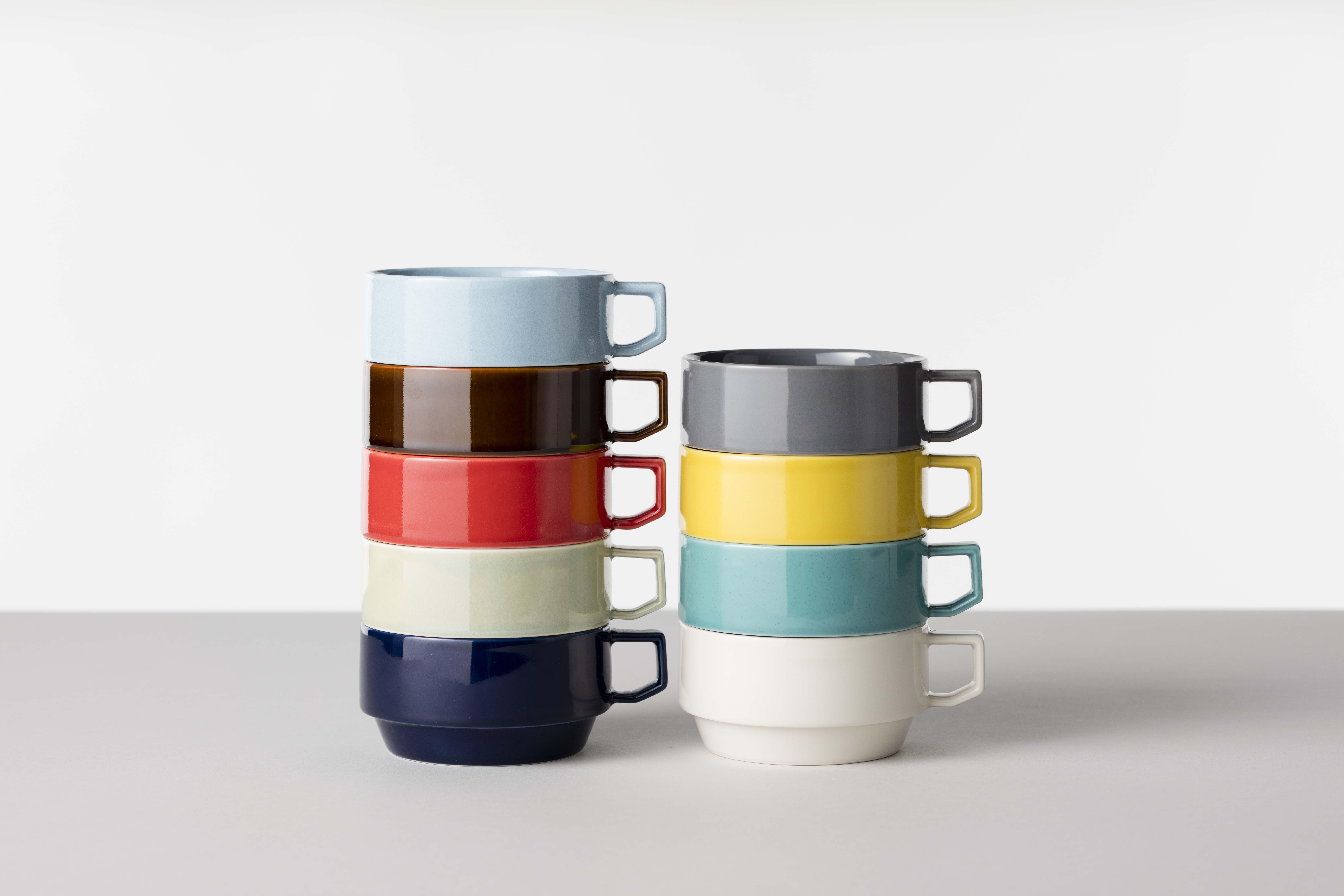 賞器選【HASAMI】堆疊湯杯繽紛濃湯杯