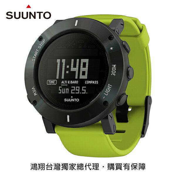 《台南悠活運動家》SUUNTOCORECRUSH運動腕錶萊姆綠