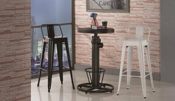 【石川家居】JF-477-2狄倫1.8尺圓形胡桃升降吧台桌(不含吧台椅和其他商品)台北到高雄搭配車趟免運