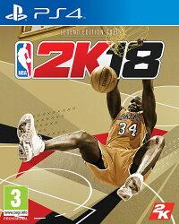 現貨供應中 中文版 [普通級] PS4 NBA 2K18 黃金傳奇珍藏版