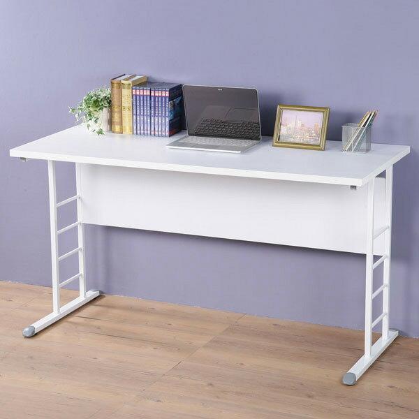 優世代居家生活館:辦公桌工作桌書桌電腦桌《YoStyle》馬克140cm辦公桌-加厚桌面(二色可選)