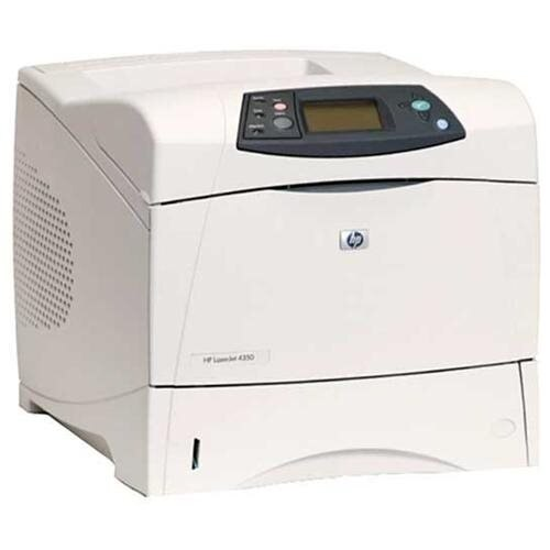 HP LaserJet 4350n Monochrome Laser Printer 0