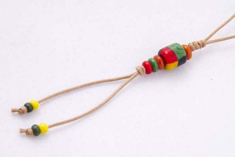 【卡塔】傳統琉璃珠吊飾 土地之珠