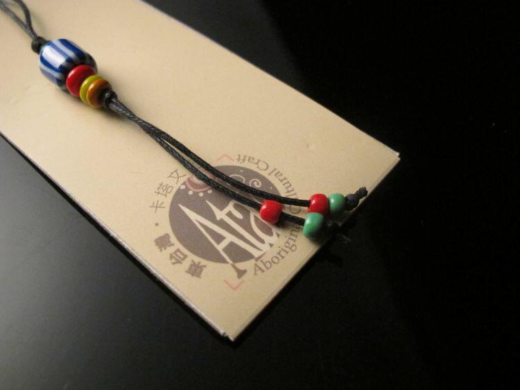 【卡塔】傳統琉璃珠吊飾 天牛之珠