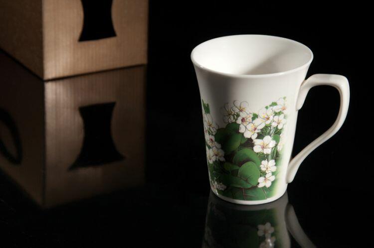 【新太源】油桐花開系列 花茶杯