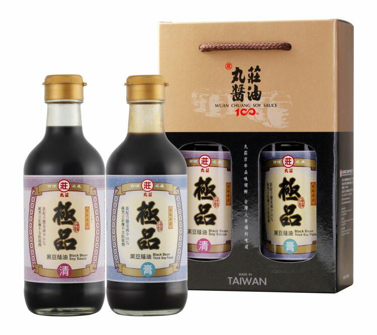 【丸莊醬油】金典極品二入禮盒