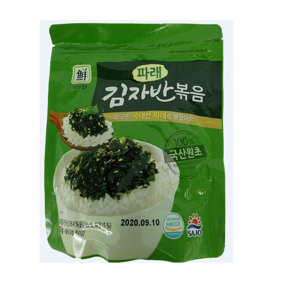 【10包 】 韓國 SAJO 思潮 海苔酥 炒海苔 原味 炒海苔 海苔鬆 海苔酥 小飯團 拌飯 泡湯 【樂活生活館】