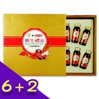 父親節美食推薦【買6送2】活氣高麗蔘飲禮盒(10瓶/盒)