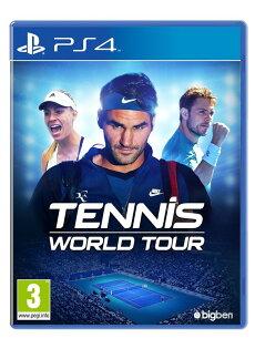 [現金價]預購2018529PS4網球世界巡迴賽一般版TennisWorldTour亞版中英文合版