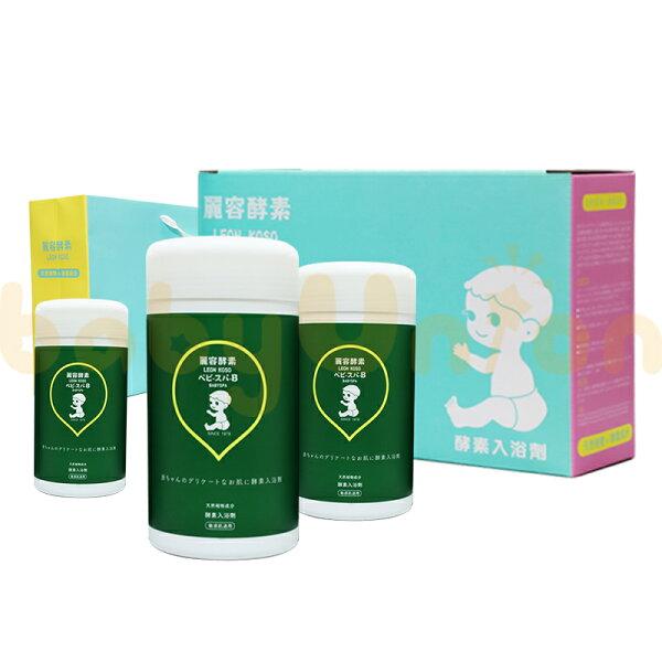 LeonKoso麗容酵素-酵素入浴劑600g3入禮盒組