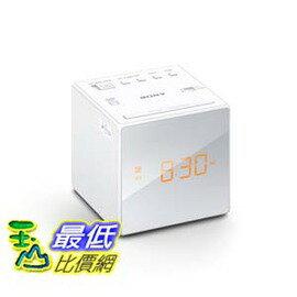 [103美國直購] sony 鬧鐘 ICF-C1 ICFC1 Clock 白色, White