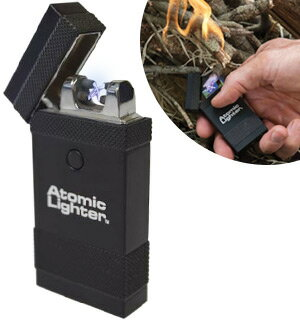 The Atomic Lighter: Rechargeable, Fuel-Free Lightning Lighter 0