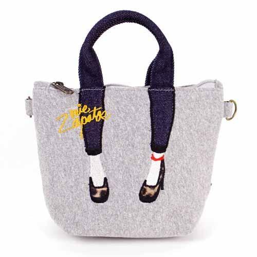 【真愛日本】16091200049日本Mis Zapatos數位萬用美腿包-灰   高跟鞋包 日本爆紅熱銷款 預購