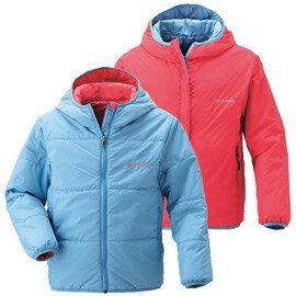 [ Mont-Bell ] 兒童外套 Exceloft 雙面穿 化纖連帽保暖外套 #1101152