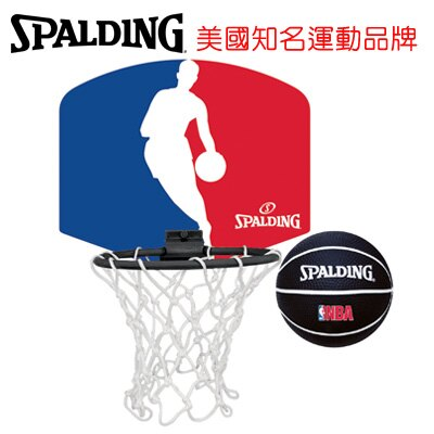永昌文具【SPALDING】 斯伯丁 NBA隊徽小籃板系列 SPA77602 NBA logo Jerry West 小籃板 /個