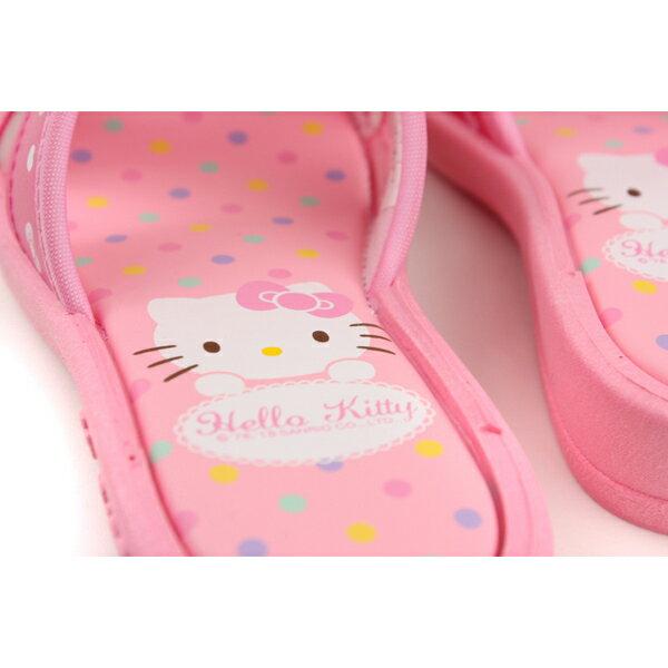 Hello Kitty 凱蒂貓 涼鞋 拖鞋 童鞋 粉紅色 中童 818124 no763 3