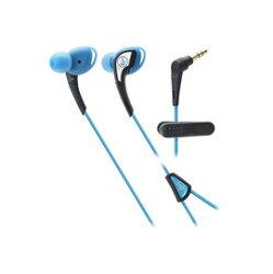 鐵三角 audio-technica ATH-SPORT2 藍色 運動型耳塞式耳機 (鐵三角公司貨)