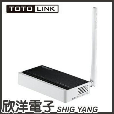 ※ 欣洋電子 ※ TOTOLINK 家用無線寬頻分享器 (N150RT) - 限時優惠好康折扣