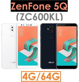 【原廠貨】華碩ASUSZenFone5Q(ZC600KL)八核心6吋4G64G4GLTE智慧型手機●前後雙鏡