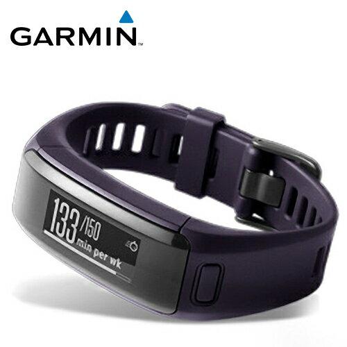 GARMINVivoSmartHR智慧手環(神秘紫)【三井3C】